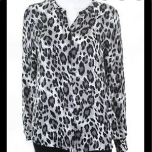 Joie Silk Animal print blouse